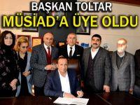 Başkan Toltar MÜSAD Yönetimini ağırladı