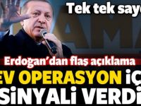 Erdoğan'dan flaş açıklama! Sinyali verdi