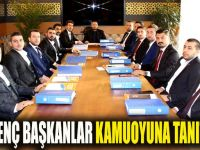 AK Parti'de genç başkanlar kamuoyuna tanıtıldı