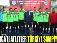 Darıcalı Atletler Türkiye Şampiyonu