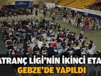 Satranç ligi'nin ikinci etabı Gebze'de yapıldı