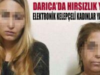 Darıca'da hırsızlık yaparken yakalandılar!