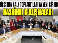 Demirci'den halk toplantılarına yeni boyut