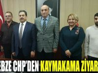 CHP'den Gebze Kaymakamına ziyaret