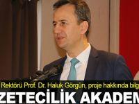 Gazetecilik Akademisi projesi
