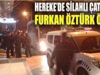 Karakol önünde silahlı kavga: 1 ölü 2 yaralı