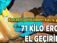 Kocaeli polisinden kaçış yok…