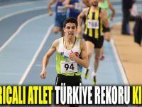 Darıcalı Atlet Türkiye rekoru kurdu