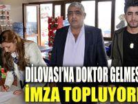 Dilovası'na doktor gelmesi için imza kampanyası başlatıldı