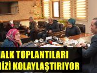 Başkan Toltar, halk toplantılarını sürdürüyor