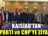 KAISİAD'dan siyasi partilere iade-i ziyaret