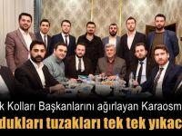 Karaosmanoğlu AK gençleri ağırladı