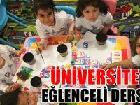 Anaokulu Üniversitesi'nde eğlenceli dersler