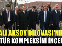 Vali Aksoy Dilovası'nda incelemelerde bulundu