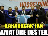 Karabacaktan amatör kulüplere destek