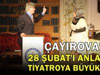 Çayırova'da 28 Şubat'ı Anlatan Tiyatro Büyük İlgi Gördü