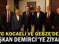 İlim Yayma'dan Başkan Demirci'ye ziyaret