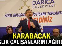 Başkan Karabacak, sağlık çalışanlarını ağırladı