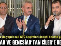 MÜSİAD ve GENÇSİAD'tan Çiler'e destek!