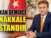 Demirci'den Çanakkale Şehitlerini Anma Günü mesajı