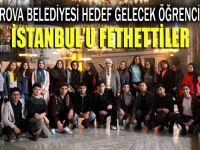 Hedef Gelecek projesinin öğrencileri İstanbul'u fethetti