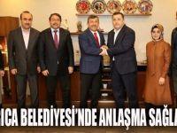 Darıca Belediyesinde anlaşma