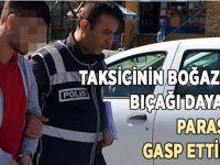 Darıca'da taksiciyi gasp ettiler!