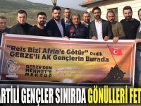 Mehmetçiğe Gebze'den selam götürdüler