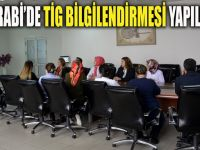 Farabi'de TİG eğitimi verildi