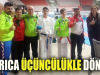 Darıca Gaziantep'ten üçüncülükle döndü