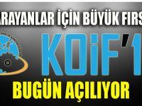 KOİF'18 açılıyor