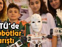 Gebze Teknik Üniversitesi'nde robotlar yarıştı