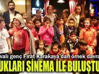 Karakaya çocukları sevindirdi