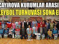 Çayırova Kurumlar Arası Voleybol Turnuvası Sona Erdi