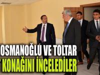 Karaosmanoğlu ve Toltar semt konağını inceledi