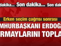 Erdoğan ve Başbakan parti kurmaylarıyla görüşüyor!