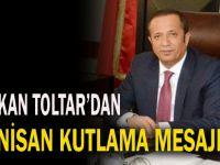 Başkan Toltar'dan 23 Nisan Mesajı