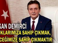 Demirci'den 23 Nisan mesajı