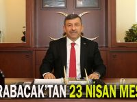 Başkan Karabacak'tan 23 Nisan mesajı