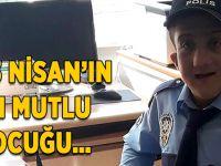Abdulsamet'in polis olma mutluluğu