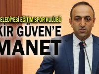Darıca Belediyesi Eğitim Spor Kulübünde yeni başkan Güven oldu