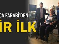 Farabi Devlet Hastanesi'nden bir ilk!