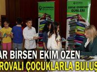 Çayırova'da Öğrencilerle Buluştu