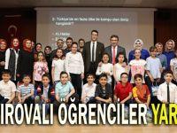 Çayırova'da Öğrenciler Bilgi Yarışmasında Ter Döktü