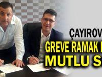 Çayırova'da greve ramak kala imzalar atıldı