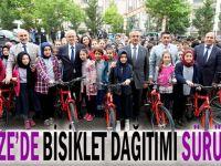 Gebze Belediyesi çocukları sevindirmeye devam ediyor