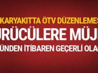 Akaryakıta ÖTV düzenlemesi!
