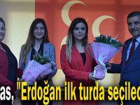 """Elmas, """"Erdoğan ilk turda seçilecek"""""""