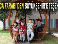 Farabi Eğitim ve Araştırmadan Büyükşehir'e teşekkür