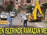 Fen İşlerinden Ramazan mesaisi